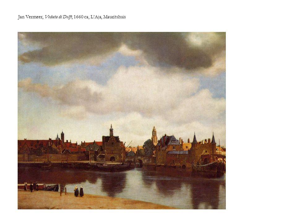 Jan Vermeer, Veduta di Delft, 1660 ca, L'Aja, Mauritshuis