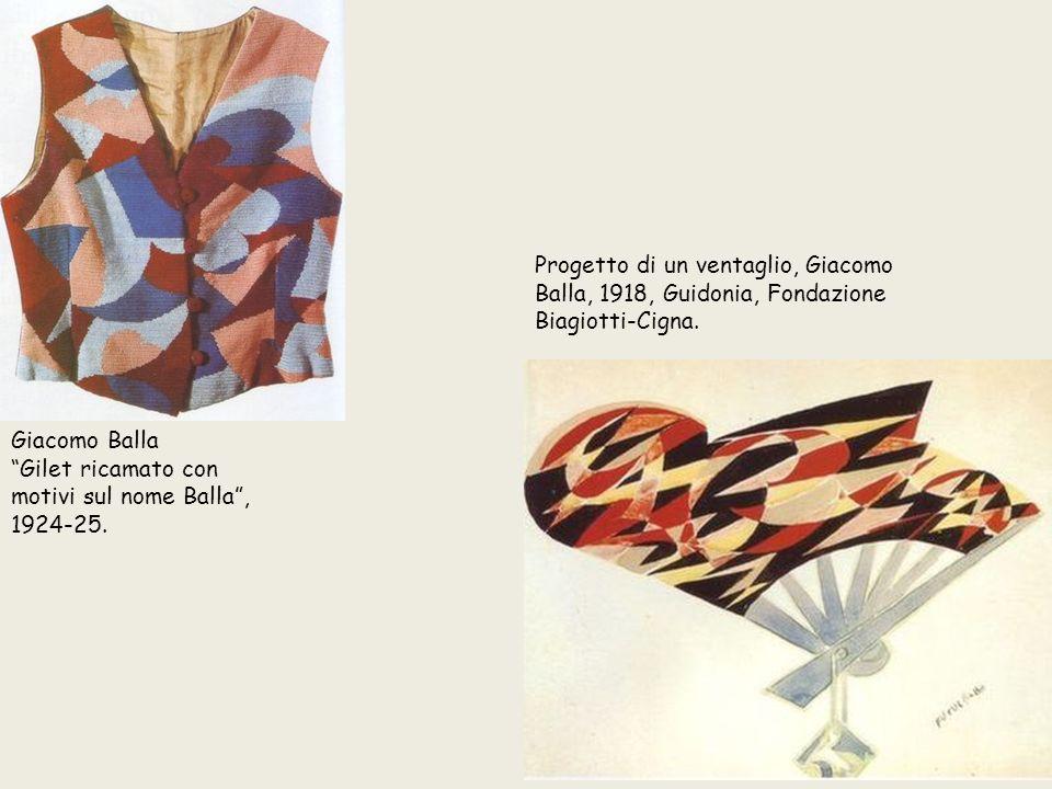 Progetto di un ventaglio, Giacomo Balla, 1918, Guidonia, Fondazione Biagiotti-Cigna.