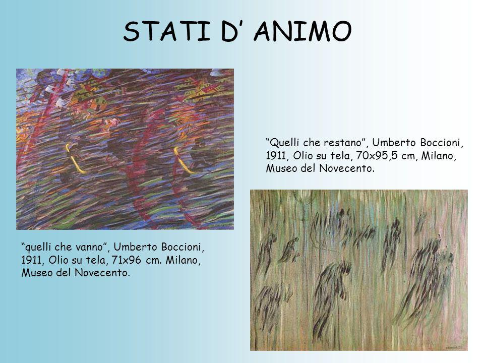 STATI D' ANIMO Quelli che restano , Umberto Boccioni,