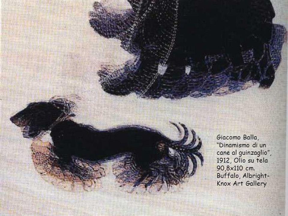 Giacomo Balla, Dinamismo di un cane al guinzaglio , 1912, Olio su tela