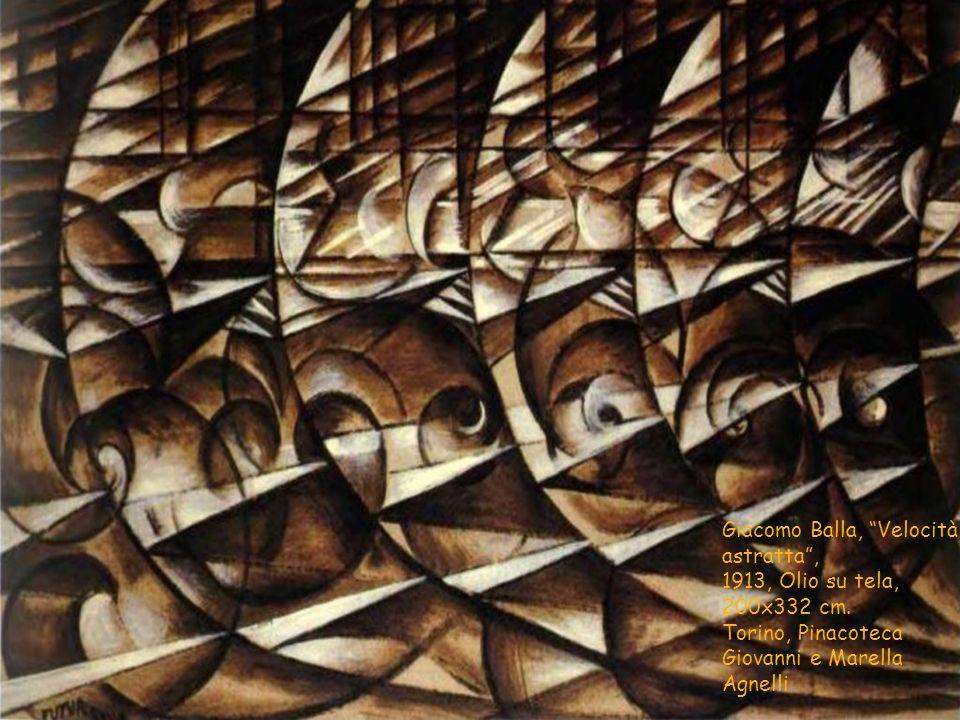 Giacomo Balla, Velocità astratta ,