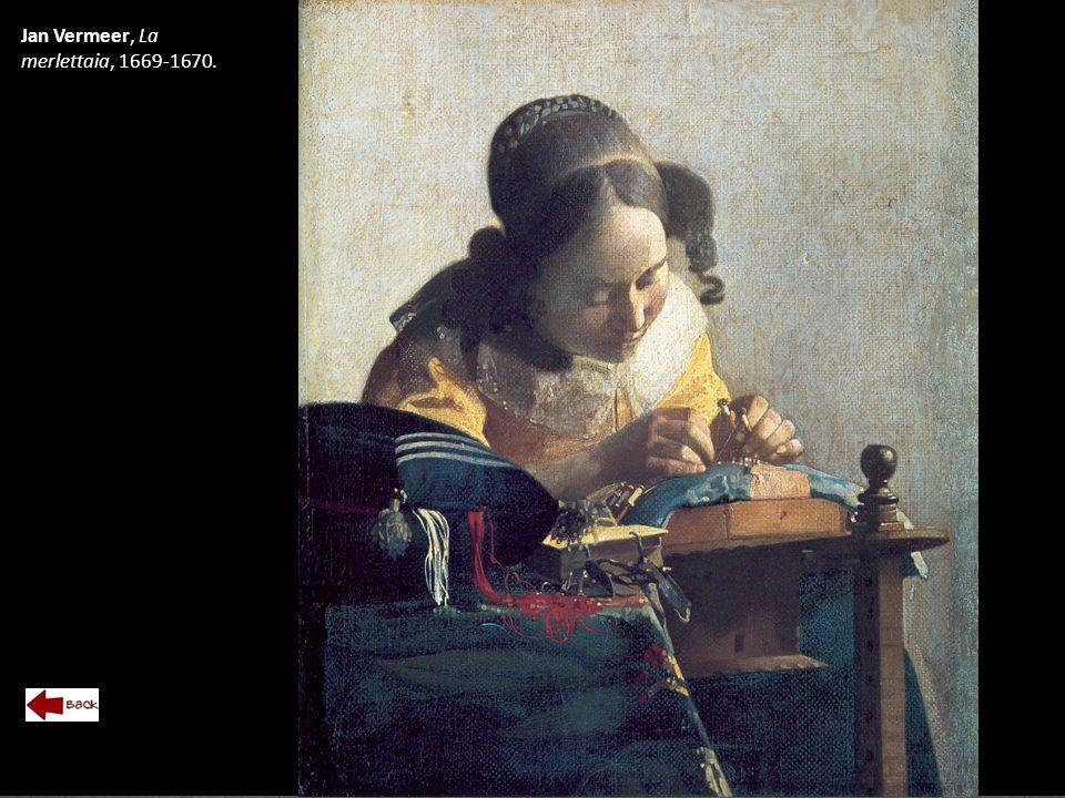 Jan Vermeer, La merlettaia, 1669-1670.