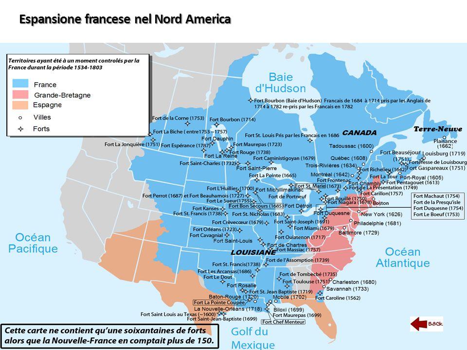 Espansione francese nel Nord America