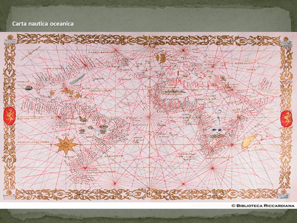 Carta nautica oceanica