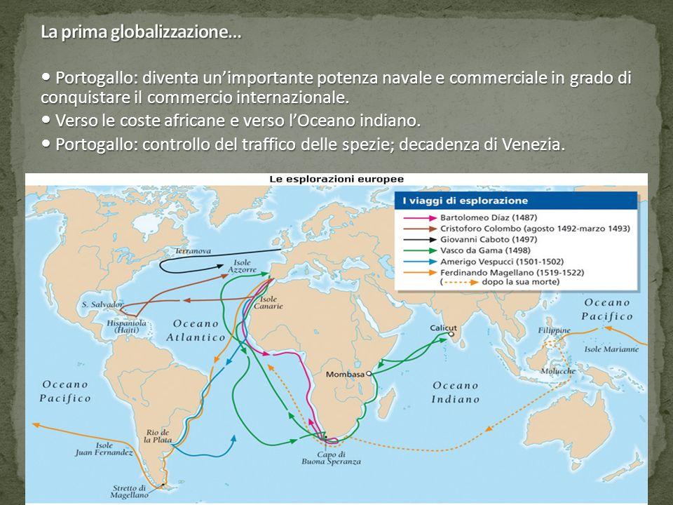 La prima globalizzazione…