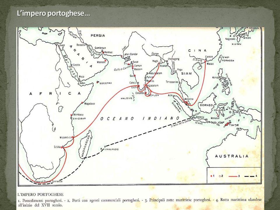 L'impero portoghese…