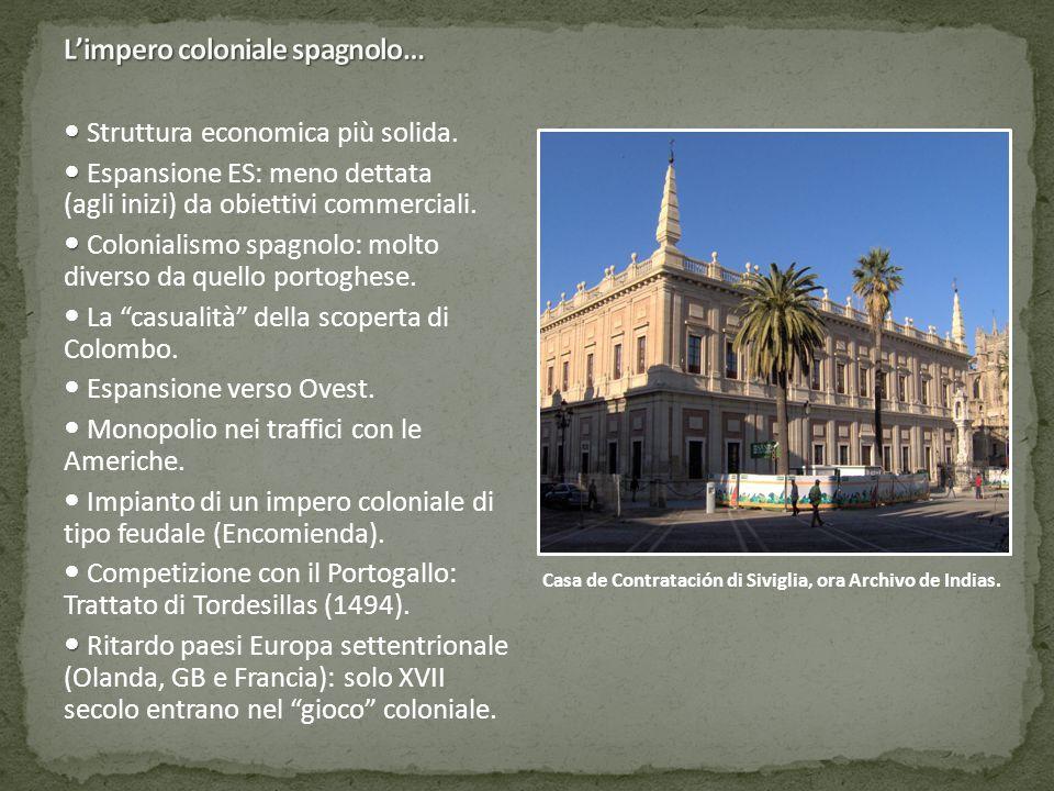 L'impero coloniale spagnolo…