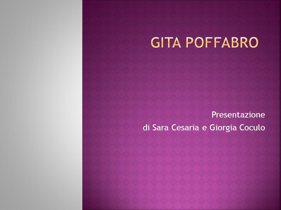 Presentazione di Sara Cesaria e Giorgia Coculo