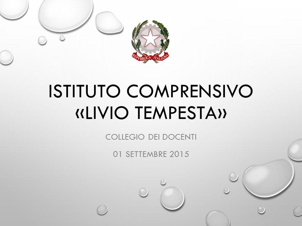 Istituto Comprensivo «Livio Tempesta»