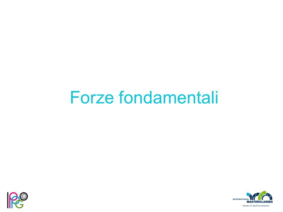Forze fondamentali