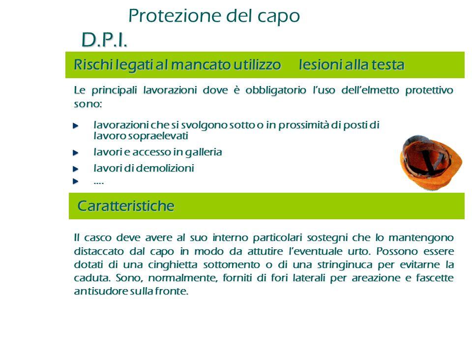 Protezione del capo D.P.I.