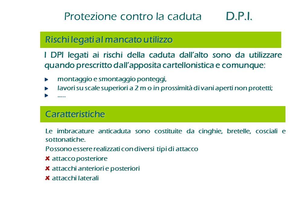 Protezione contro la caduta D.P.I.