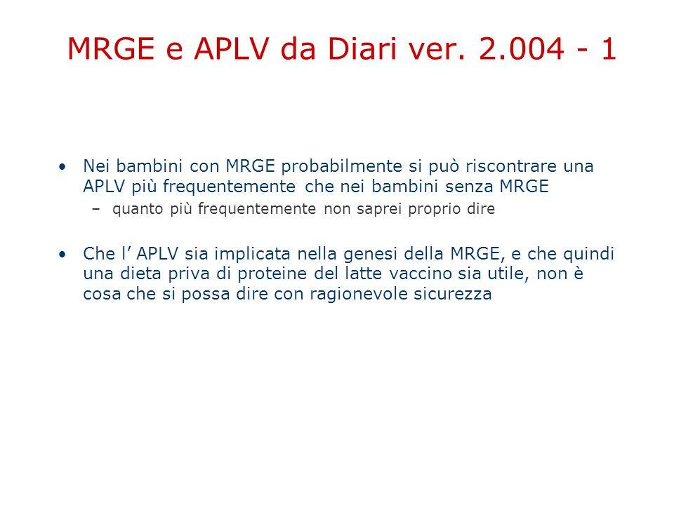 MRGE e APLV da Diari ver. 2.004 - 1