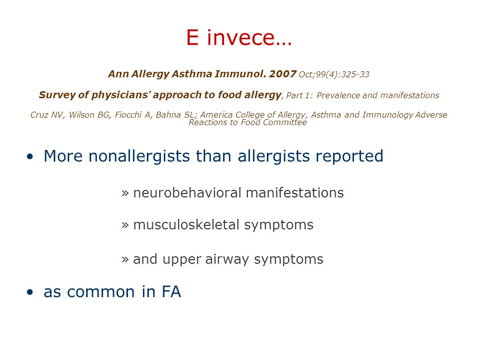 Ann Allergy Asthma Immunol. 2007 Oct;99(4):325-33