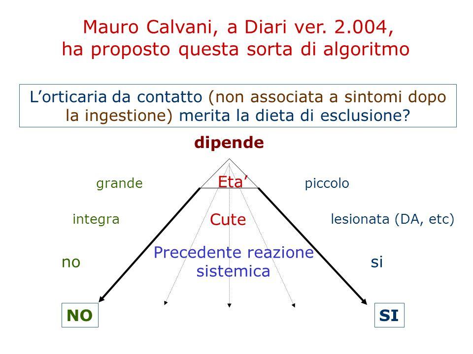 Mauro Calvani, a Diari ver. 2.004,