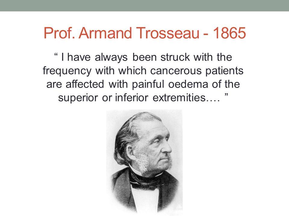 Prof. Armand Trosseau - 1865