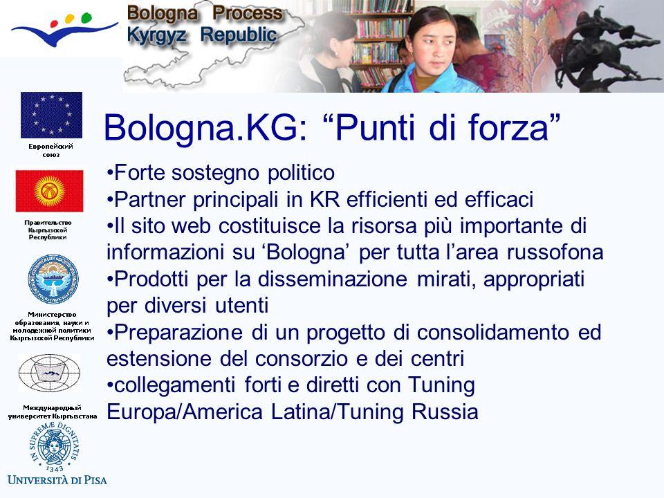 Bologna.KG: Punti di forza