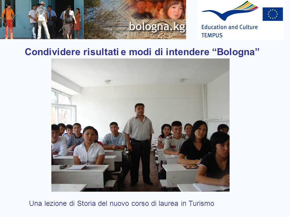 Condividere risultati e modi di intendere Bologna