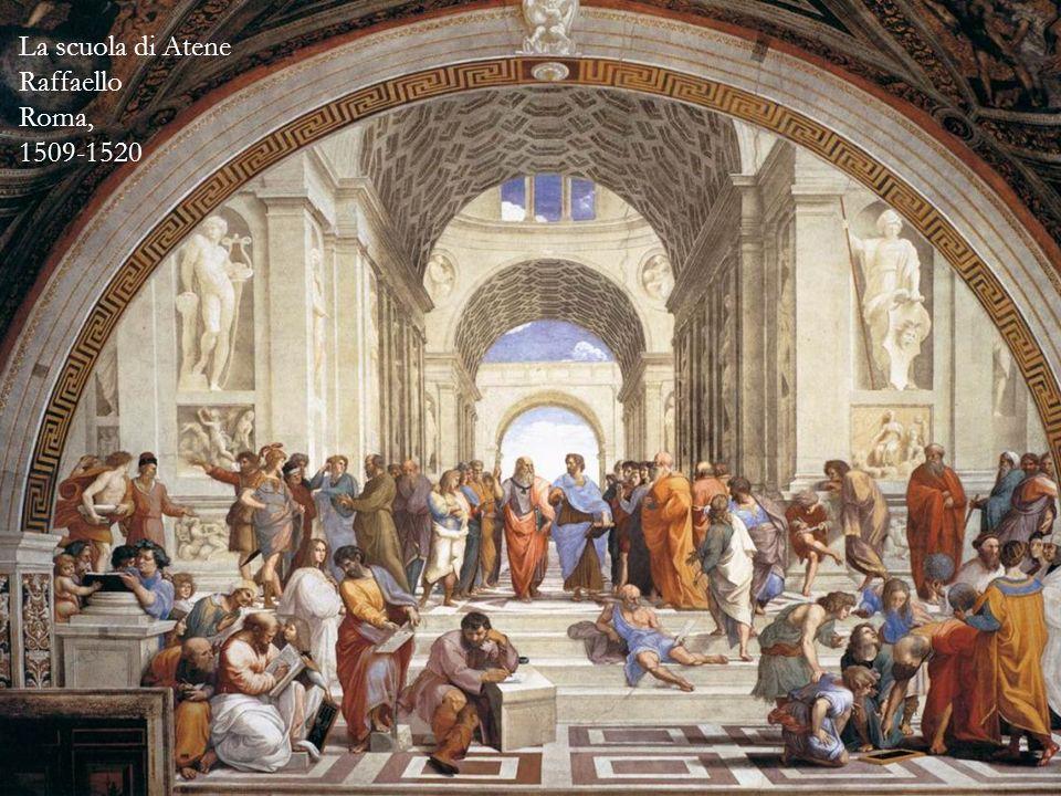 La scuola di Atene Raffaello Roma, 1509-1520
