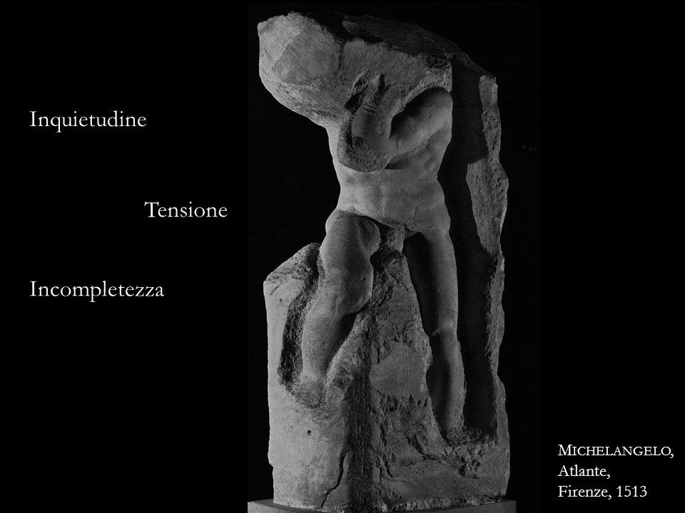 Inquietudine Tensione Incompletezza Michelangelo, Atlante,