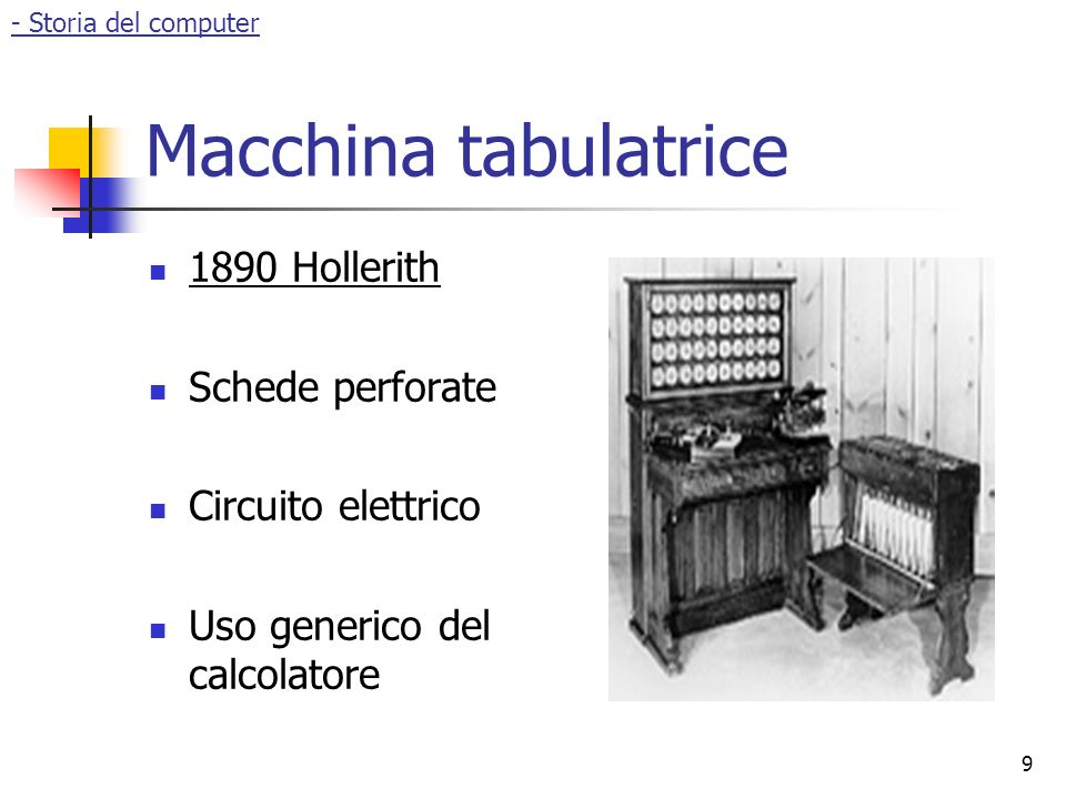 Macchina tabulatrice 1890 Hollerith Schede perforate
