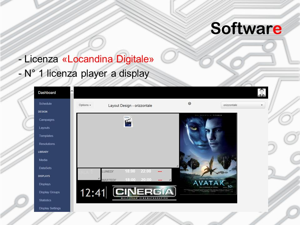 Software - Licenza «Locandina Digitale»