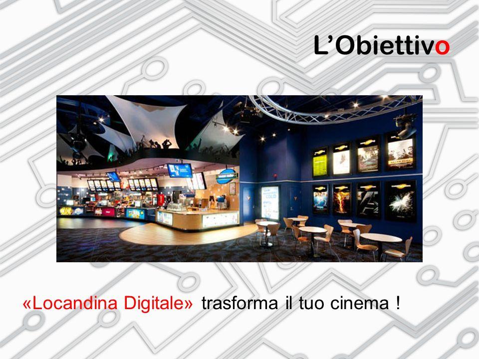 L'Obiettivo «Locandina Digitale» trasforma il tuo cinema !