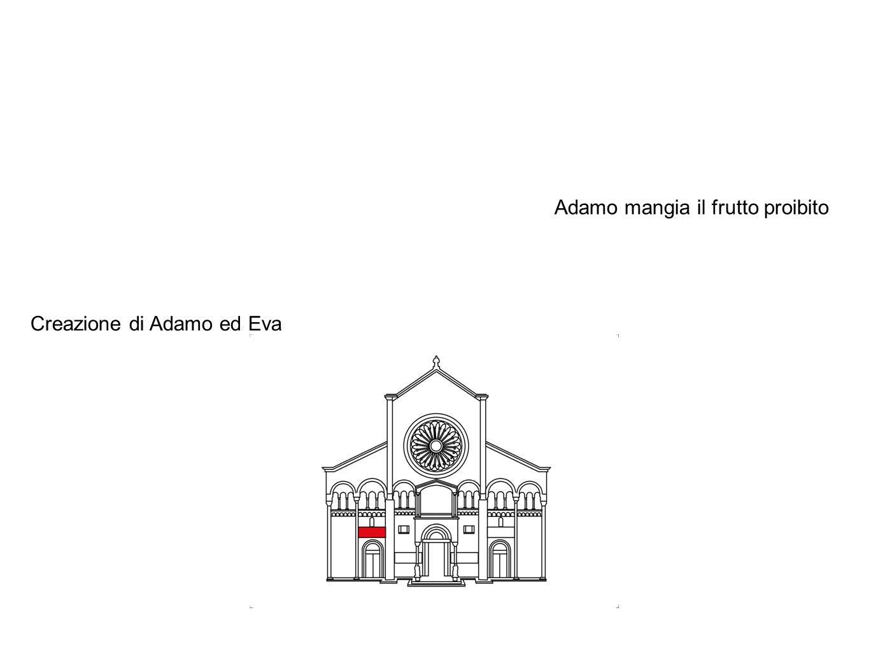 Adamo mangia il frutto proibito