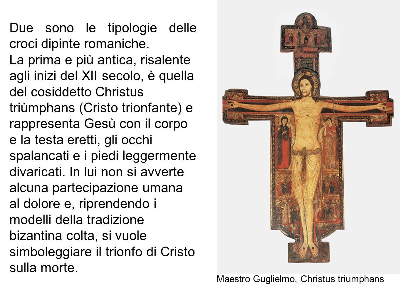 Due sono le tipologie delle croci dipinte romaniche.