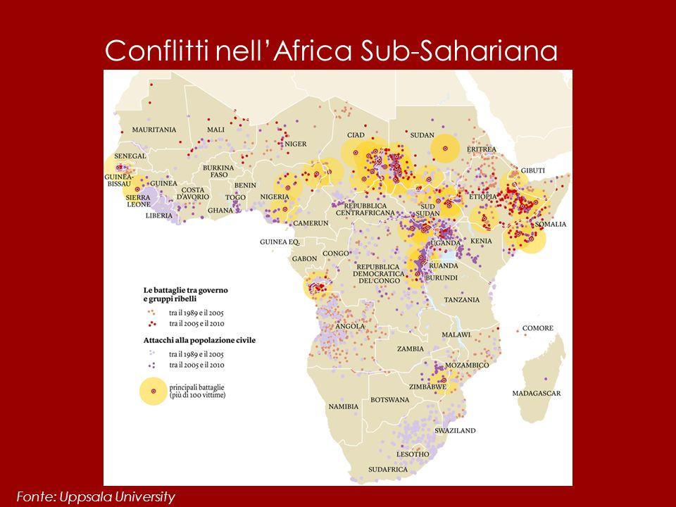 Conflitti nell'Africa Sub-Sahariana