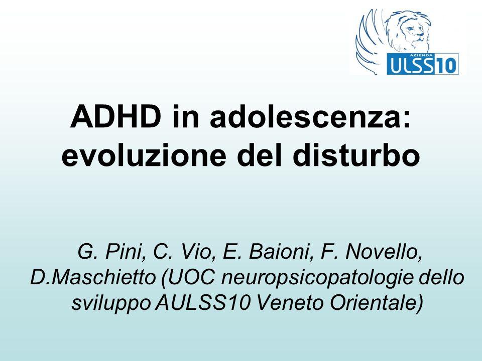 ADHD in adolescenza: evoluzione del disturbo