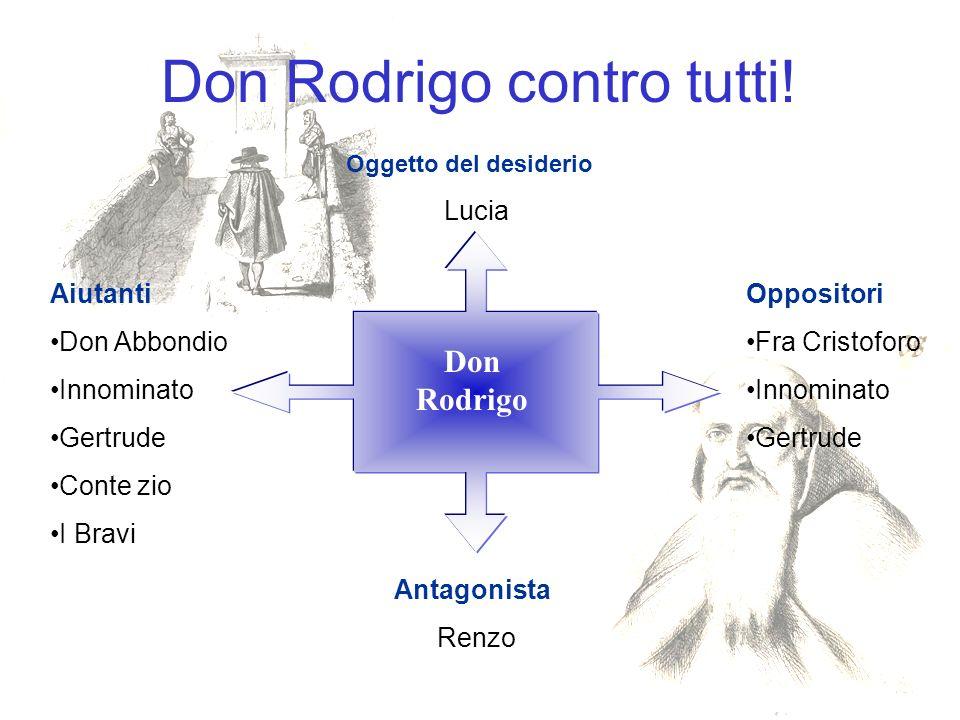 Don Rodrigo contro tutti!