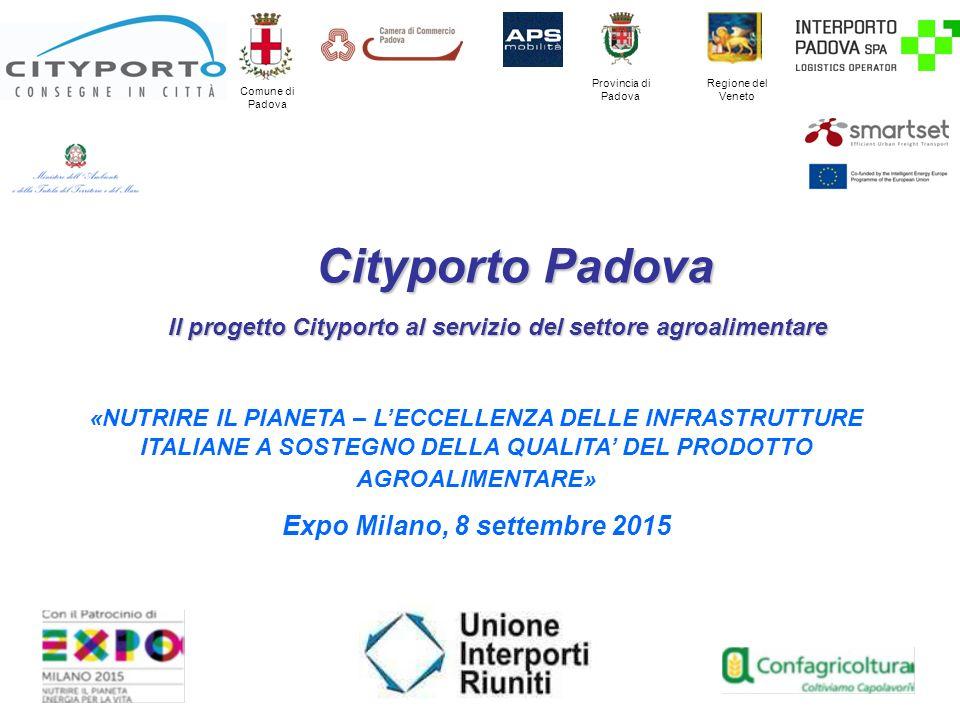 Il progetto Cityporto al servizio del settore agroalimentare