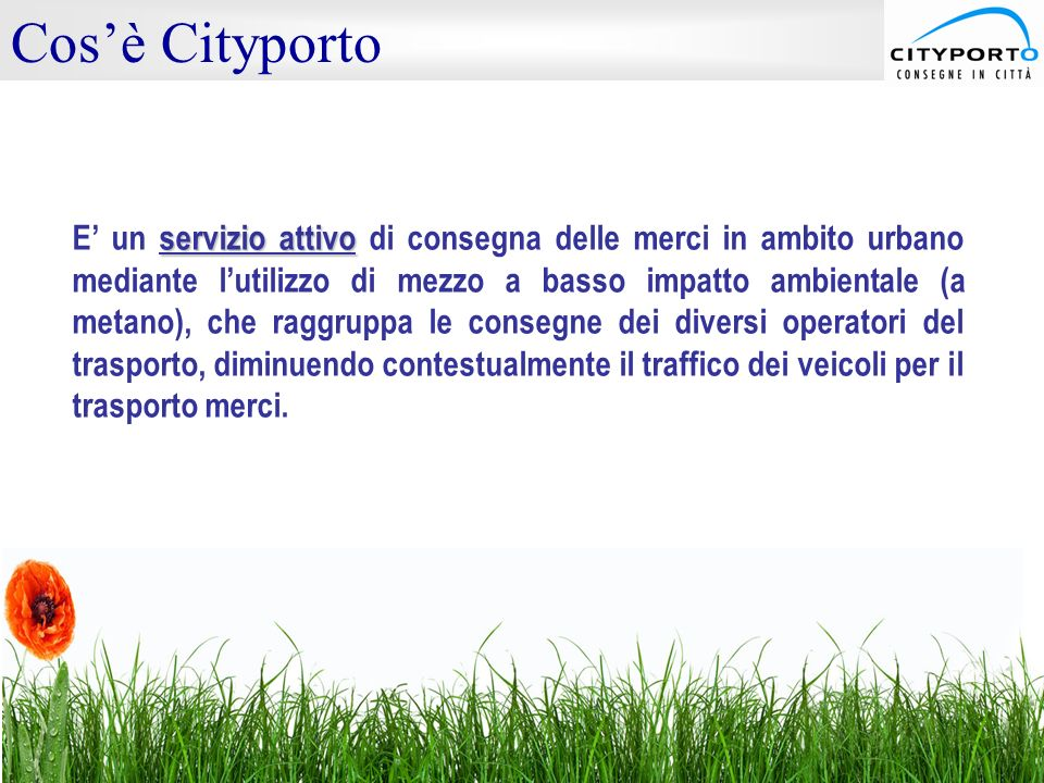 Cos'è Cityporto