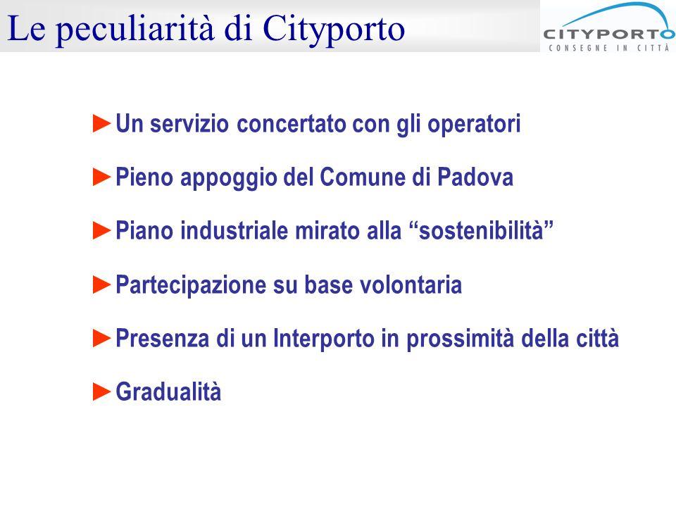 Le peculiarità di Cityporto