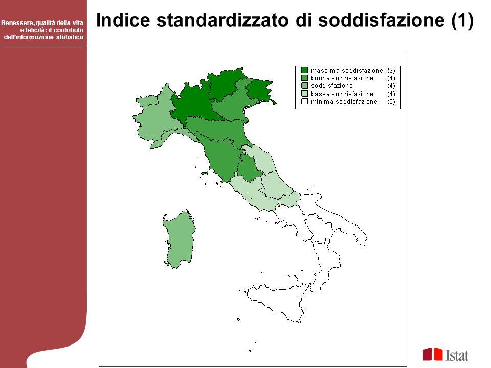 Indice standardizzato di soddisfazione (1)