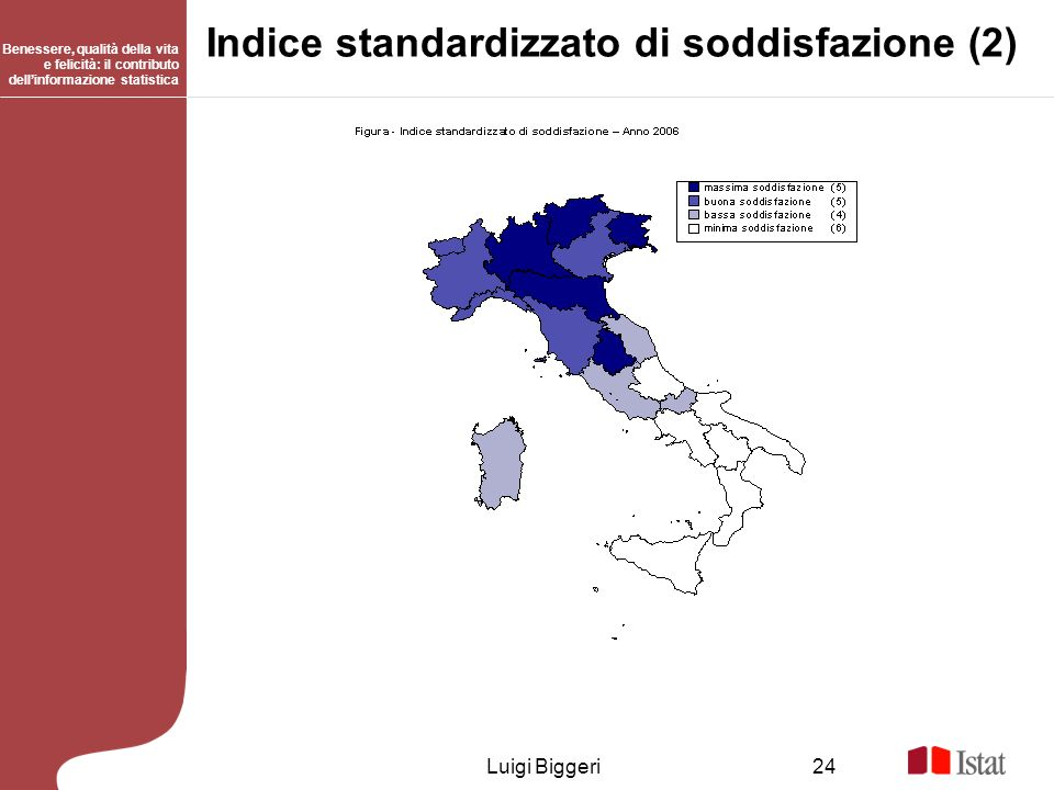 Indice standardizzato di soddisfazione (2)