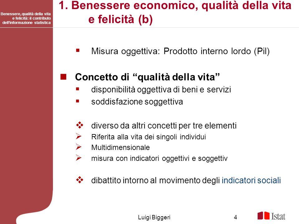 1. Benessere economico, qualità della vita e felicità (b)