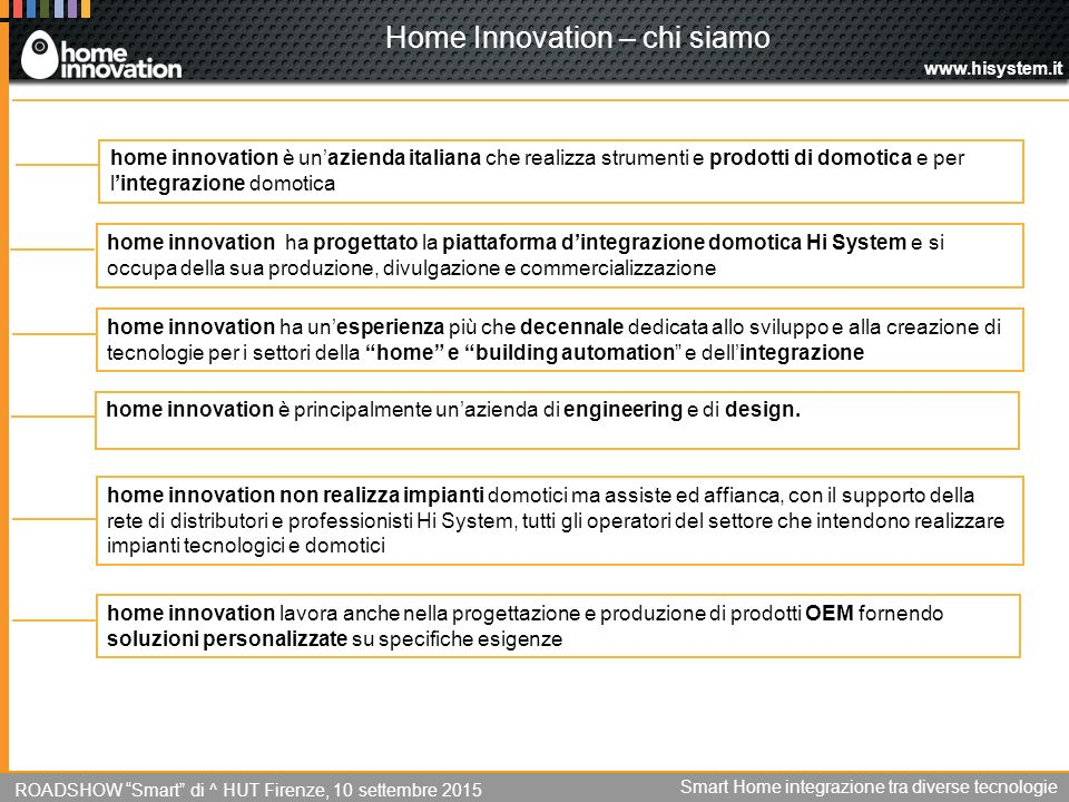 Home Innovation – chi siamo
