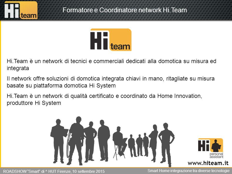 Formatore e Coordinatore network Hi.Team