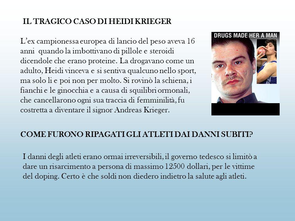 IL TRAGICO CASO DI HEIDI KRIEGER