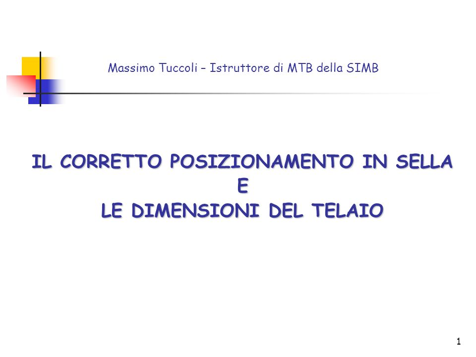 Massimo Tuccoli – Istruttore di MTB della SIMB