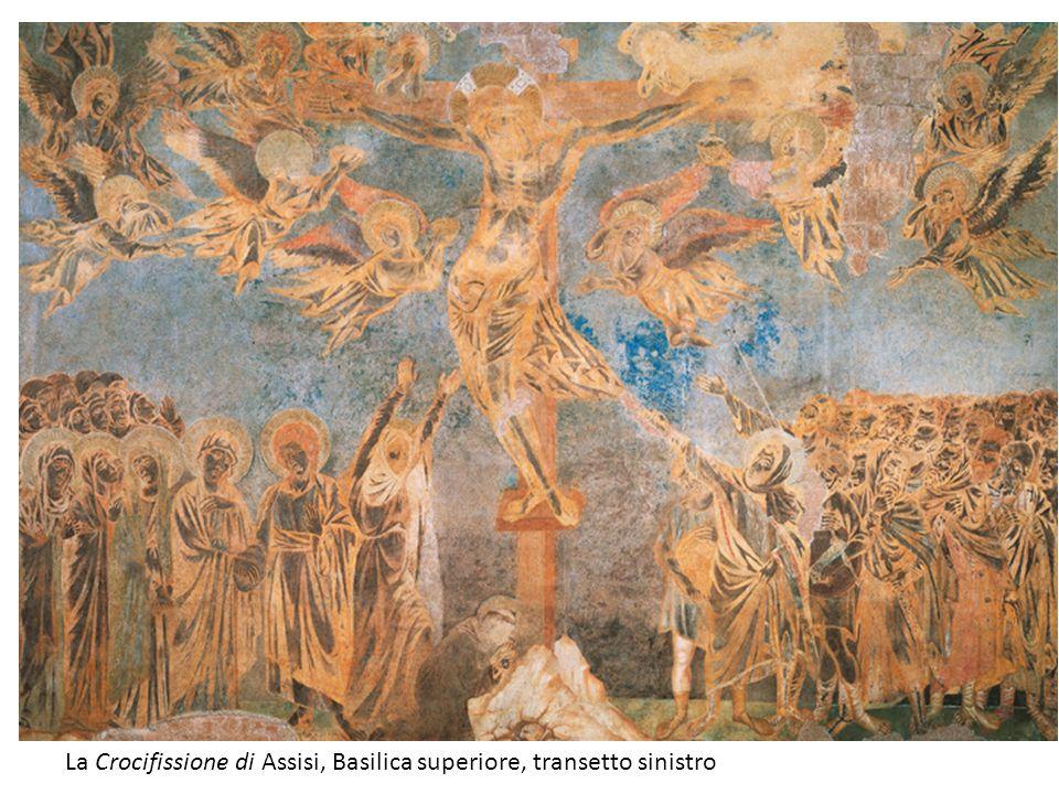 La Crocifissione di Assisi, Basilica superiore, transetto sinistro