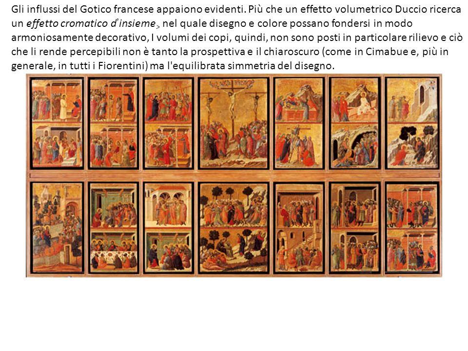 Gli influssi del Gotico francese appaiono evidenti