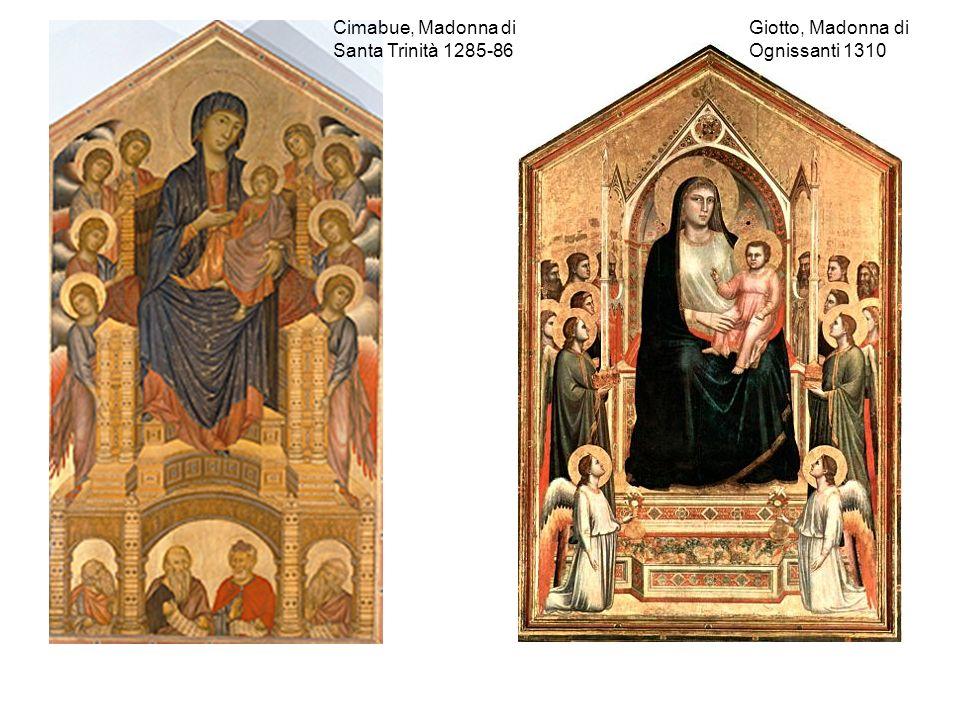Cimabue, Madonna di Santa Trinità 1285-86