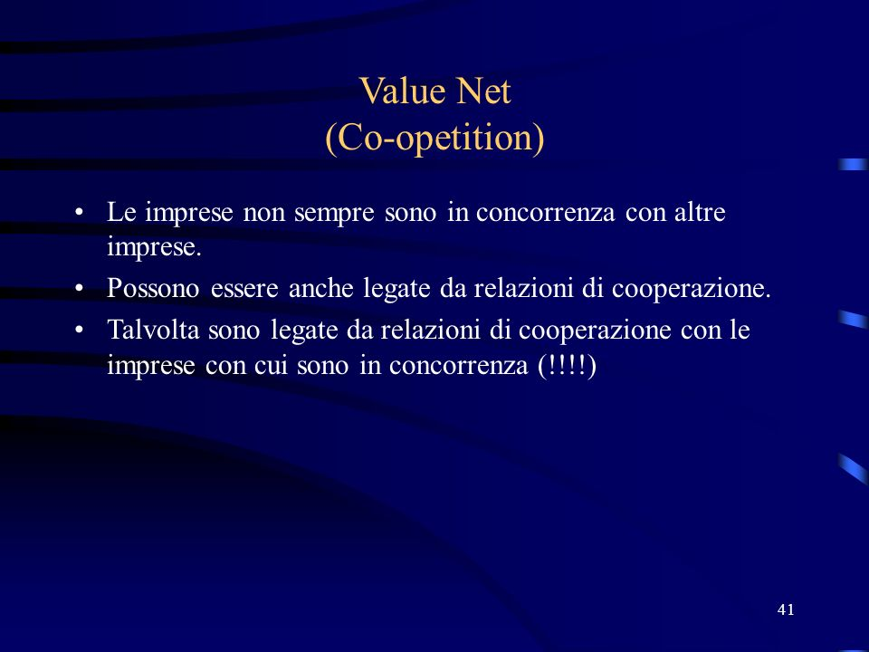 Value Net (Co-opetition)