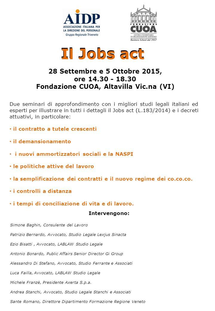 Fondazione CUOA, Altavilla Vic.na (VI)