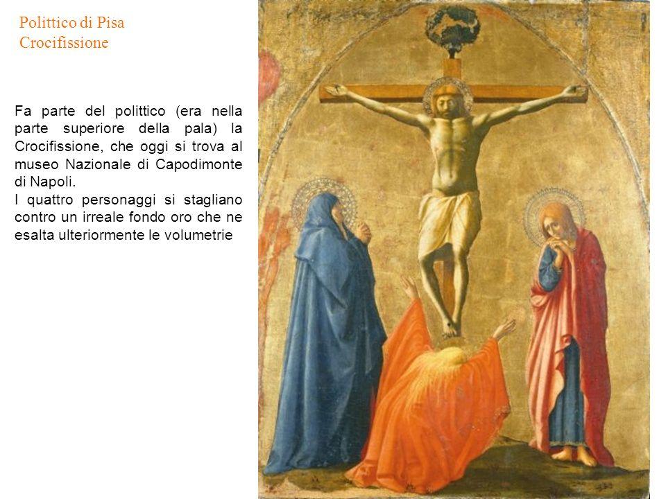 Polittico di Pisa Crocifissione