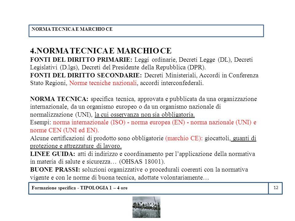 4.NORMA TECNICA E MARCHIO CE