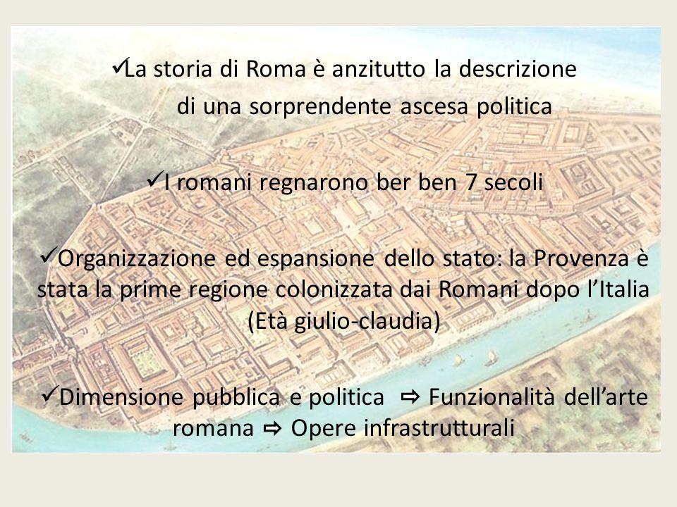 La storia di Roma è anzitutto la descrizione